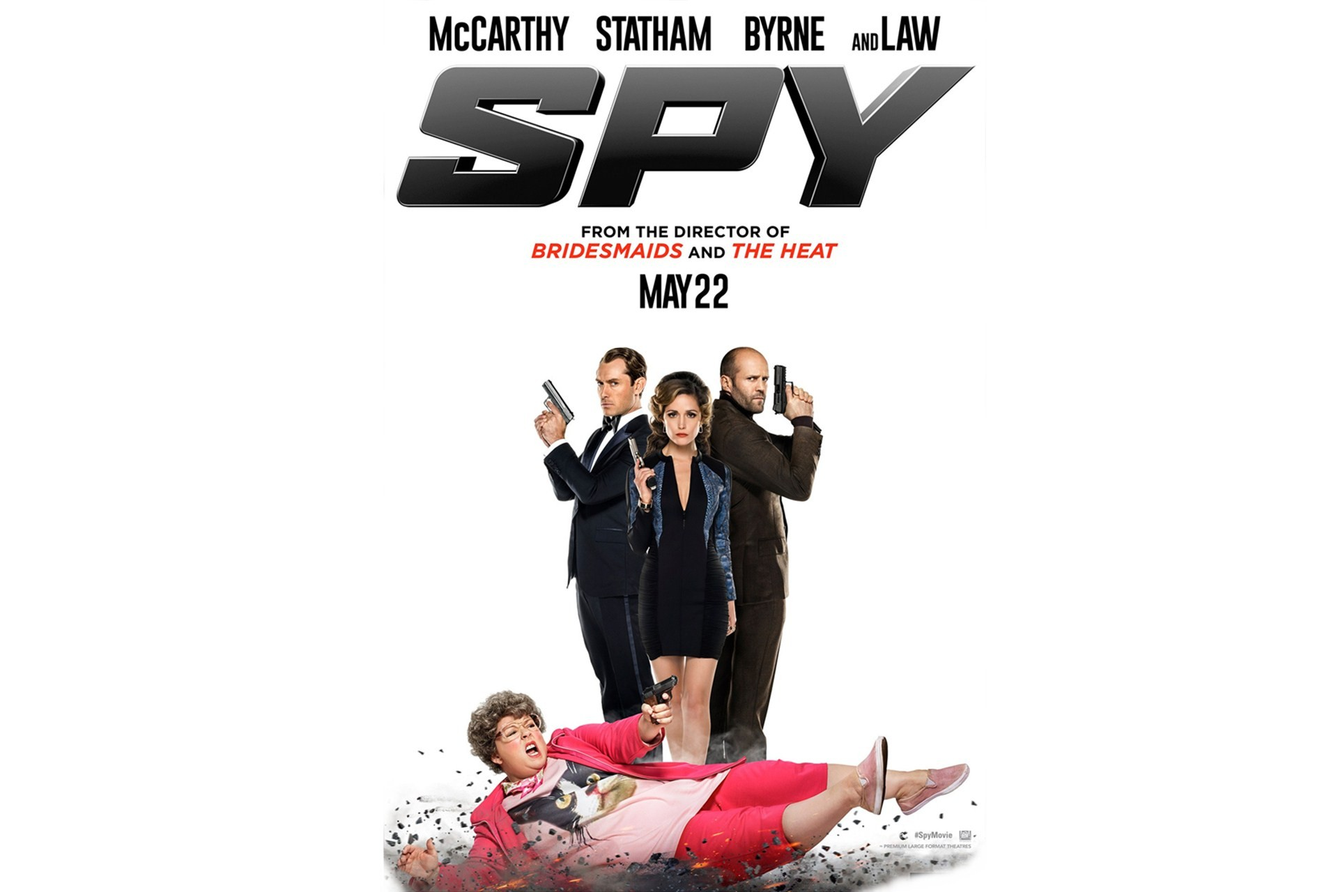 Spy 2015 Movie Wide Wallpaper The Yorker