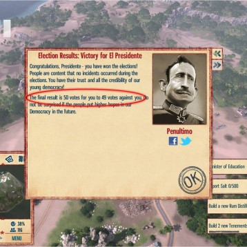 Playing politics in Tropico 4 (II of II): Guevara's socialist Tropico