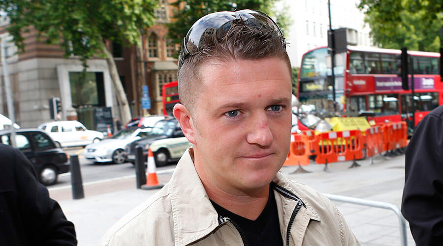 Tommy Robinson claims his talk at York was cancelled due ...